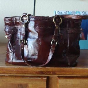 Coach leather purse 👛